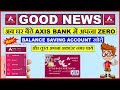 How to open Axis Bank Zero Balance Account online | Axis ASAP Account | 2018