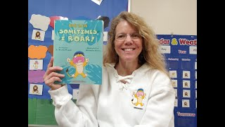 Brody the Lion Sometimes I ROAR! by Dr. Kristin Wegner. Read Aloud book about autism and behavior