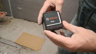 видео Лазерный уровень нивелир Bosch Quigo III (0603663521)