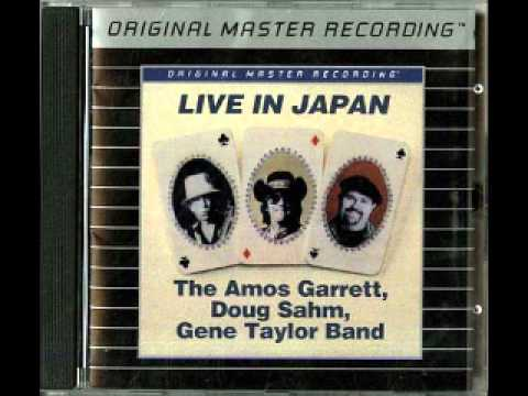 The Amos Garrett Doug Sahm Gene Taylor Band- Sleepwalk (Live)