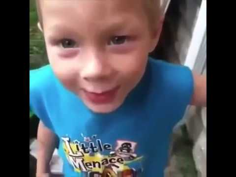 Little kids saying bad words