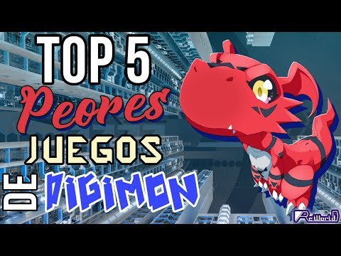 TOP 5 PEORES Videojuegos De Digimon