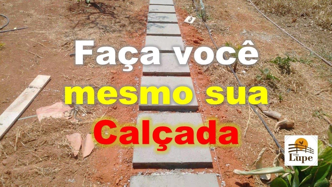 Download PISANTE DE CONCRETO - CALÇADA DE CONCRETO