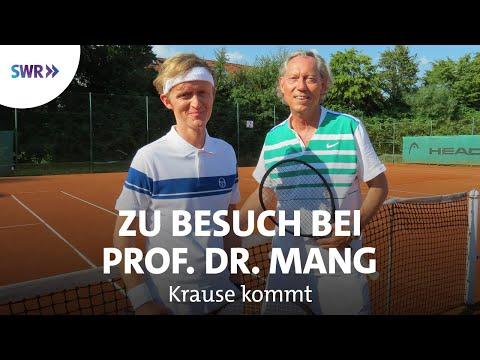Zu Besuch bei Prof. Dr. Werner Mang | Krause kommt