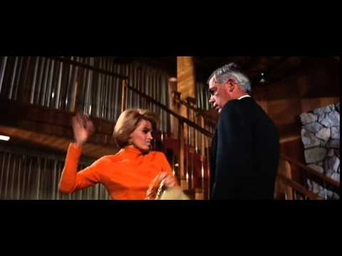 Real method acting - Angie Dickinson & Lee Marvin in Point Blank