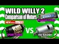TAMIYA Wild Willy 2(WR-02) Comparison of Motors (PART 1/3) SPORT TUNED vs RS-540SH