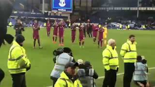 Man City players and their fans sing: 'We're gonna win the League'