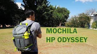 """Mochila HP Odyssey pra notebook de até 15.6"""""""