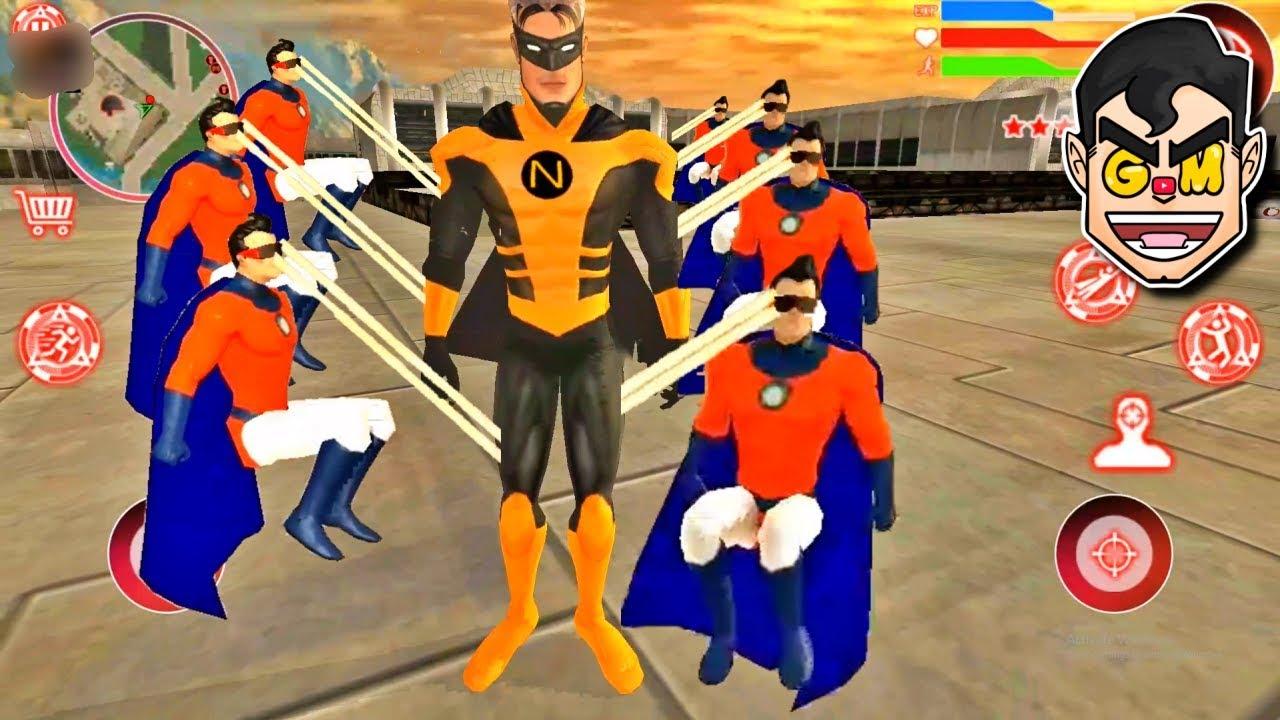 NAXEEX SUPERHERO vs SUPERHEROES | Superheroes City - Commentary