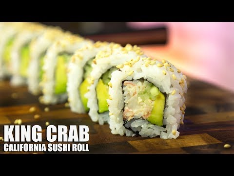 King Crab California Sushi Roll!