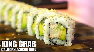 King Crab California Sushi Roll!
