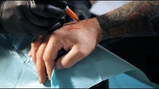 How to Draw on Skin | Tattoo Artist
