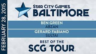 Best of the SCG Tour: Ben Green vs Gerard Fabiano [Magic The Gathering]