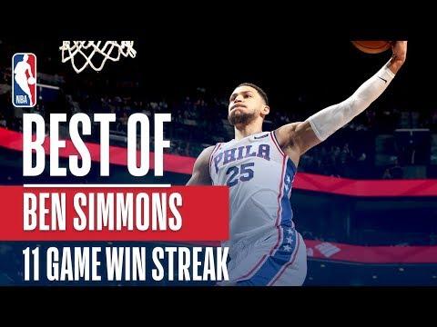 Ben Simmons Best Plays From The Sixers' Win Streak!