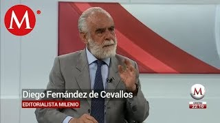 Es un disparate que AMLO pida disculpas por la Conquista en México, Diego Fernández de Cevallos