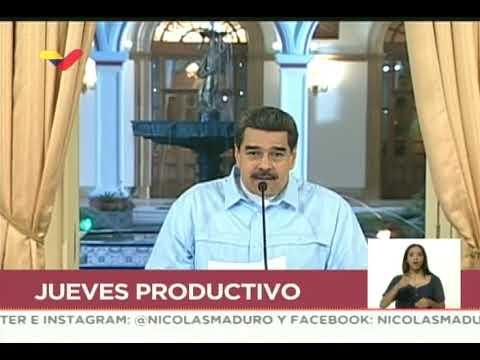 Maduro responde ante nuevas sanciones a los CLAP, 25 julio 2019