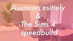 The Sims 4 | Meidän asunnon esittely ja speedbuild