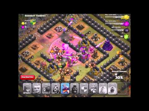Clash Of Clans: Sherbet Towers #50 W/ TH 7 Units (Updated/New 6/2014)