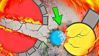 Diep.io STORY OF SPIKE  / AFK Destroyer / EPIC TROLLING MONTAGE