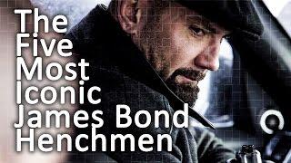 The Five Most Iconic James Bond Henchmen
