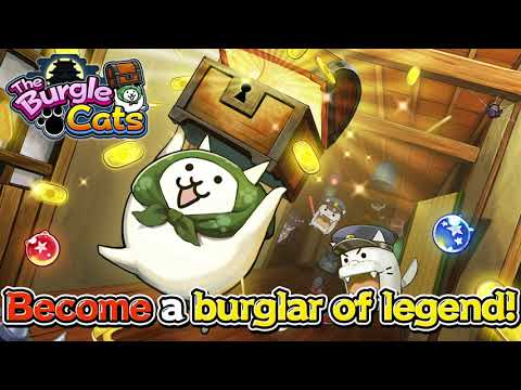 The Burgle Cats Official Release PV