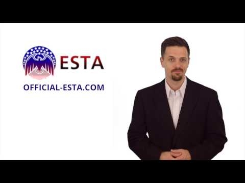 Is an ESTA visa required when crossing the Canada border?