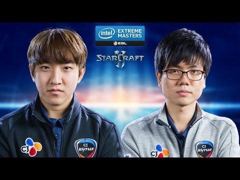StarCraft 2 - herO vs. Bbyong (PvT) - IEM Katowice 2015 - Quarterfinal