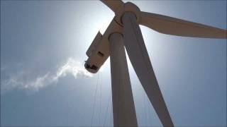 Wind Turbine Windmill blade cleaning  and inspection 300