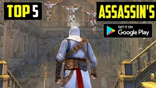 Top 5 Assassin's Creed Games for Android 2020 (Online/Offline) HIGH GRAPHICS