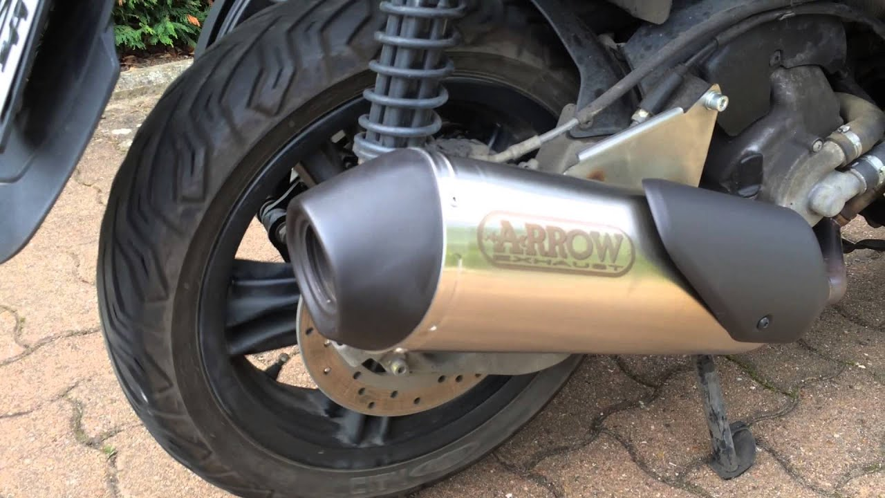 pot arrow reflex 2 0 sur yourban 300 sans chicane