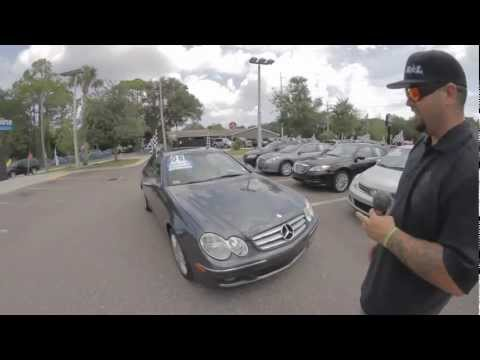 Autoline's 2008 Mercedes-Benz CLK-Class CLK350  Walk Around Review Test Drive