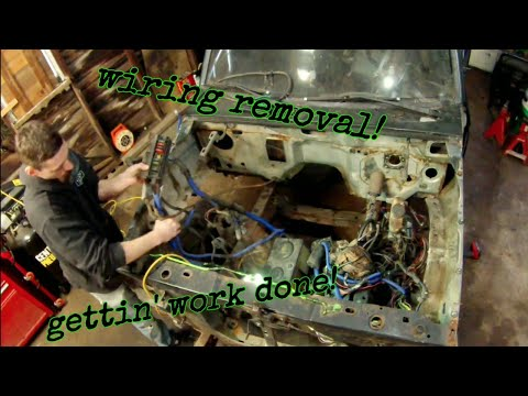 Ep.20 Bronco 2 wiring harness removal - YouTubeYouTube