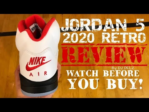 Air Jordan 5 Fire Red 2020 OG Retro HONEST Review With Sizing And New Release Date