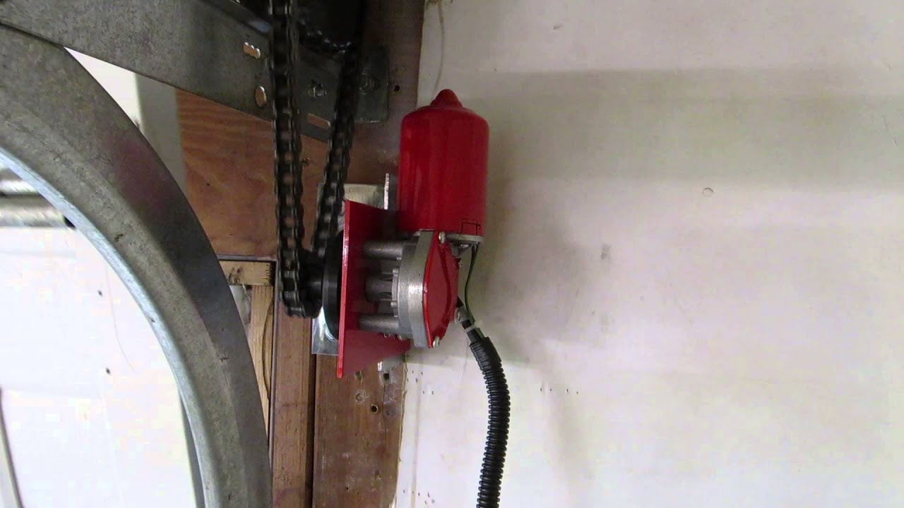 broten garage doorsMarantecBroten Side Mount Garage Door Opener  YouTube