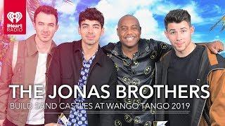 Jonas Brothers Compete To Build The Best Sandcastle!   2019 Wango Tango