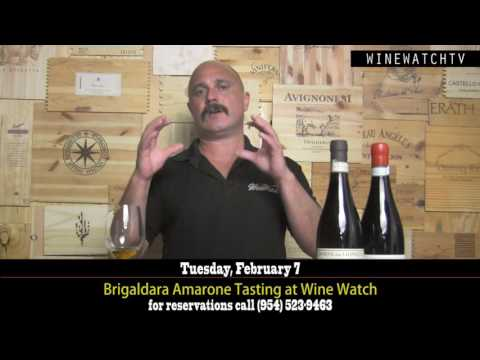 Brigaldara Amarone Tasting at Wine Watch Feb 2017 - click image for video