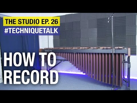 Complete Guide To RECORDING YOURSELF On Marimba!