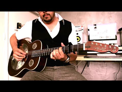 Fender Brown Derby | affordable resonator guitar