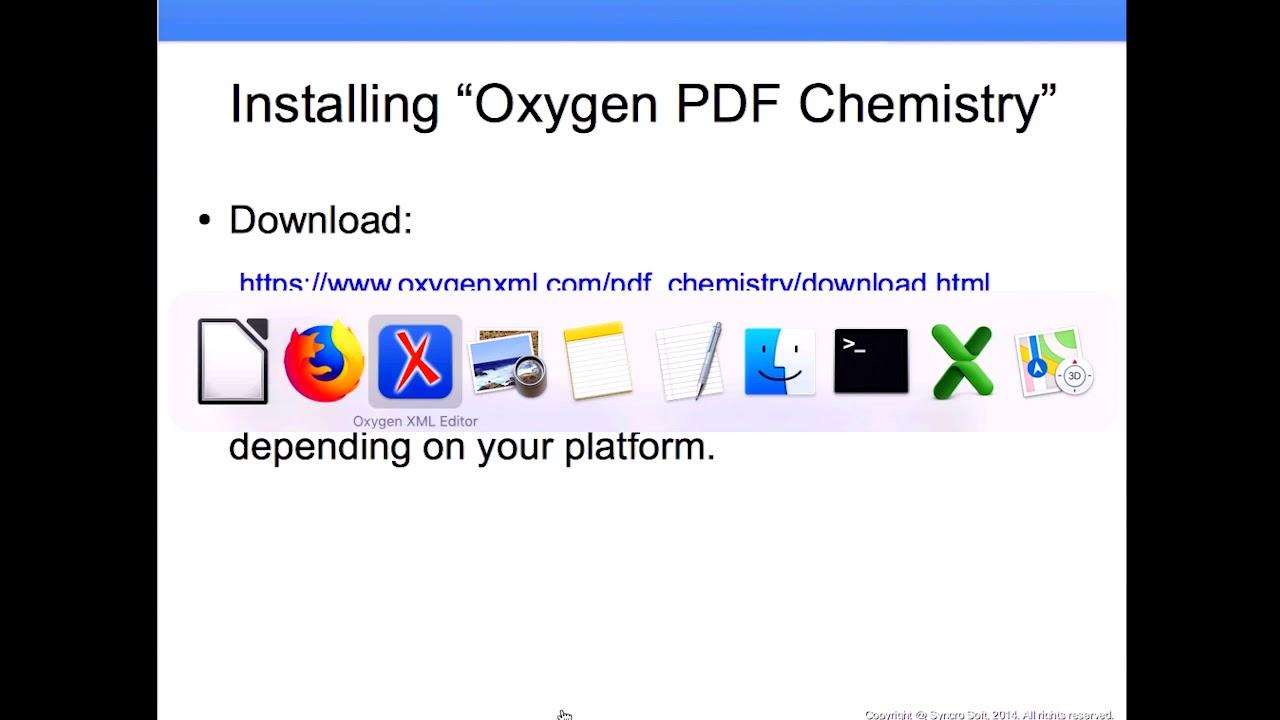 Oxygen Pdf Chemistry Xml Css Pdf Presented By Radu Coravu