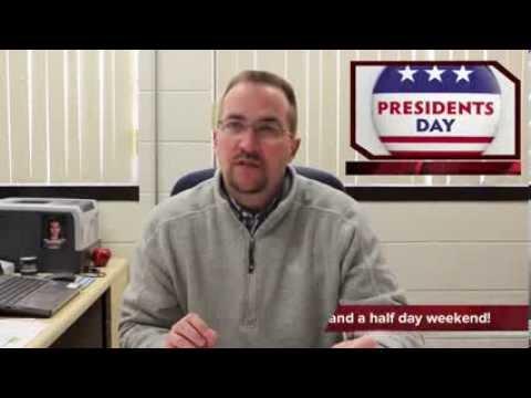 This Week at Reed-Custer High School - Feb 10-16, 2014