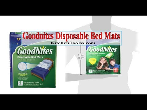 Goodnites Disposable Bed Mats Review