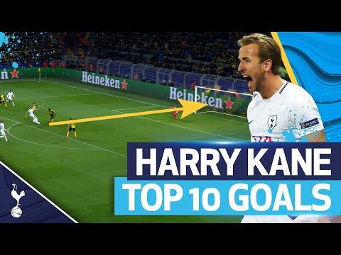HARRY KANE'S TOP 10 GOALS IN EUROPE!  🎯