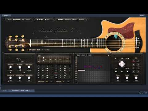 Review Of Ample Guitar T  Acoustic Guitar VI