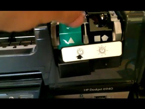 hp deskjet 6940 printer cannot change ink latch lock problem youtube rh youtube com HP Deskjet Printers HP Deskjet Printer Cartridges