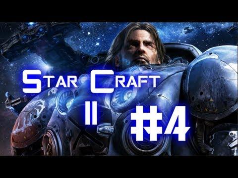 StarCraft II: Wings of liberty - Con uñas y dientes - Parte 4 - Español (HD)