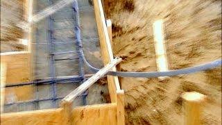 Budowa domu, fundament, Full HD, Film 2 Szalunki i zbrojenia ławy fundamentowej