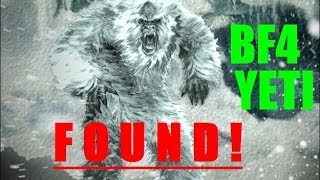 BATTLEFIELD 4 EASTER EGG FOUND! (Yeti on Golmud Railway)