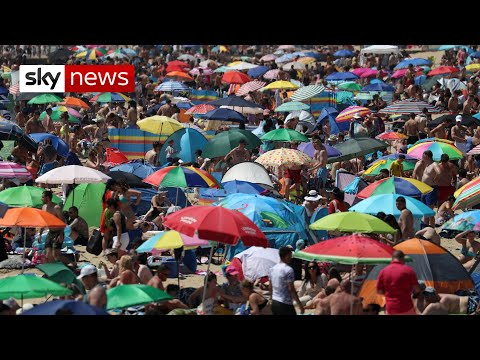 Major incident declared in Bournemouth as beaches packed - UK COVID-19 update