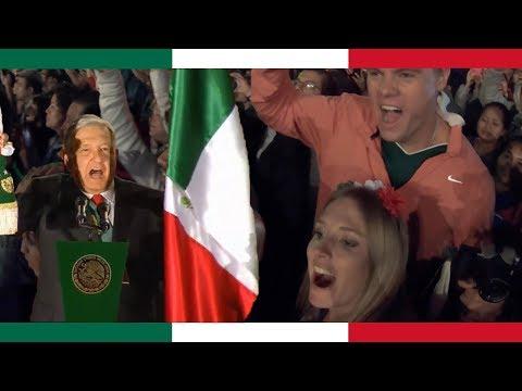Gringos Celebrate El Grito in Mexico City 🇲🇽 Fiestas Patrias 2019 (con subtítulos)