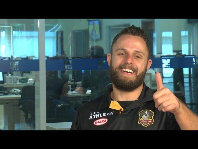 Entrevista com o fixo Rodrigo, jogador do Magnus Futsal